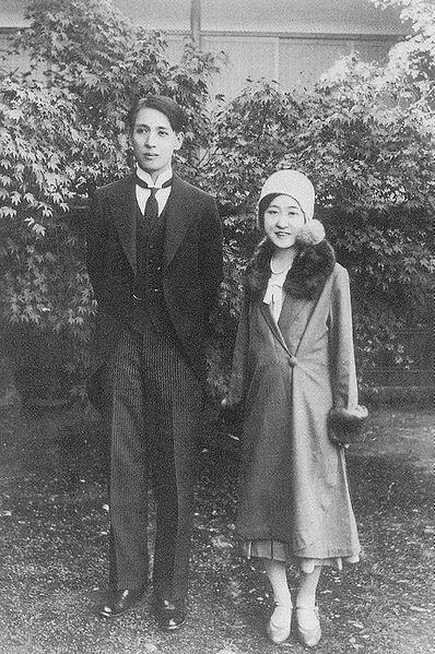 File:Princess dukhye and takeyuki so, 1931.JPG