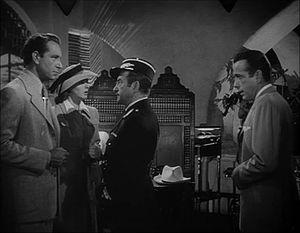 Screenshot of Paul Henreid, Ingrid Bergman, Cl...