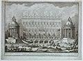 Print, The temples of Apollo and Diana built for the first day of the fireworks at SS. Peter and Paul by Paolo Posi, 1763 (CH 18304421-2).jpg