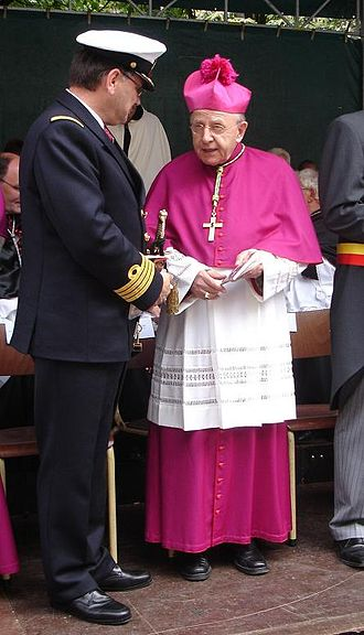 Papal diplomacy - Cardinal, at the time Archbishop Karl-Josef Rauber; former nuncio for Belgium and Luxembourg