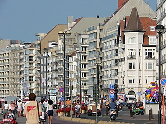 Knokke - The Promenade on Het Zoute