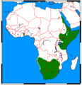 Proteles cristatus range map.png