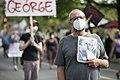 Protest against police violence - Justice for George Floyd (49941307803).jpg