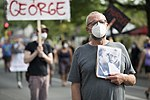 Protest against police violence - Justice for George Floyd (49941307803).jpg