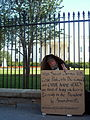 Protester in front of the White House.JPG