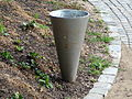 Public waste basket, Park Studánka, Brno (2).jpg