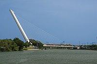 Puente del Alamillo Guadalquivir Seville Spain.jpg