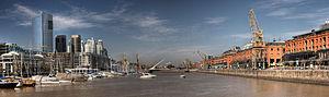 Puerto Madero Panorama