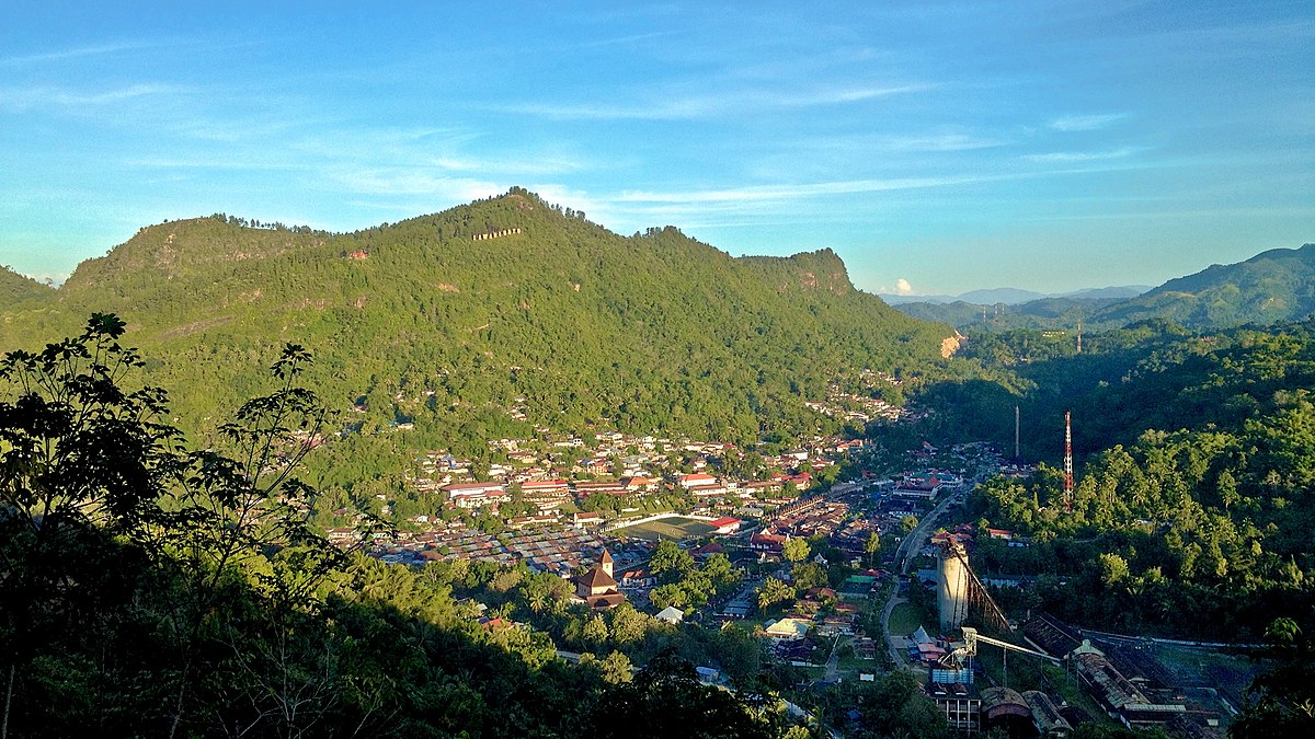 File Puncak Cemara Sawahlunto View 2 Jpg Wikimedia Commons