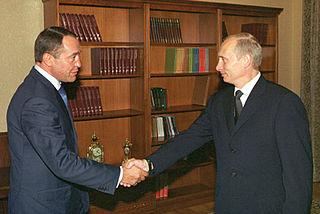 Mikhail Lesin Russian political advisor