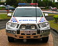 QLD Police Toyota Kluger 4x4 general duties - Flickr - Highway Patrol Images.jpg