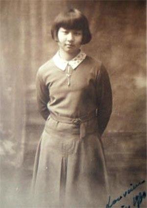 Qian Xiuling - Qian Xiuling in 1930