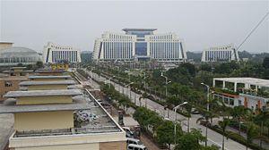 Qinzhou - Qinzhou government buildings