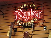 Quality Taylor Guitars neon sign.jpg