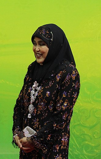 Hassanal Bolkiah - Saleha, the Queen Consort of Brunei