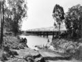 Queensland State Archives 127 Burnett Bridge Burnett River Bundaberg October 1931.png