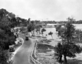 Queensland State Archives 2065 Main Pacific Highway crossing Tallebudgera Creek Burleigh Heads c 1934.png