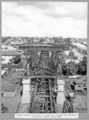 Queensland State Archives 3468 South approach steel span No 4 completely erected and falsework for span No 5 under construction Brisbane 20 April 1937.png