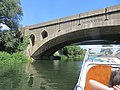 Quite graceful - the older of the two bridges carrying the A1 over the Nene at Wansford - August 2013 - panoramio.jpg