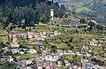 Quito Templo de la Patria from Panecillo 01.jpg