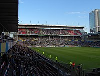 Råsunda East, South and West stand.JPG