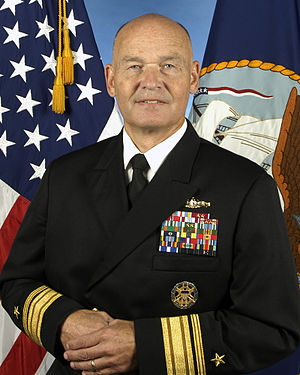 Mark H. Buzby - Official RADM photo