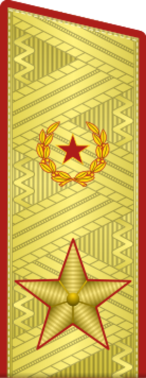 Army General (Soviet rank) - Rank insignia