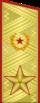 Парадный погон генерала армии (1974-1991)