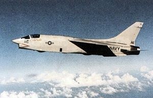 RF-8G Crusader VFP-63 in flight 1981.jpg