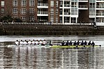 Race of reserve crews during the Boat Race in spring 2013 (2).JPG