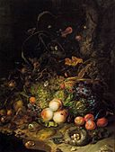 Rachel Ruysch - Flowers, Fruit, and Insects - WGA20554.jpg