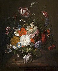 Still Life, Flowers and Insects