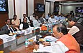 Radha Mohan Singh and the Minister of State for Agriculture, Shri Mohanbhai Kalyanjibhai Kundariya during the meeting of the Minister's of coastal States to discuss issues of Fisheries sector, in New Delhi on March 18, 2015.jpg