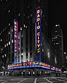 Radio City Music Hall Panorama BW.jpg