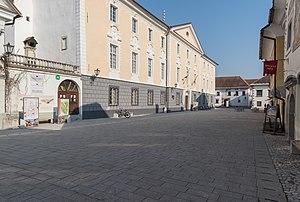 Radovljica - Thurn Castle and presbytery