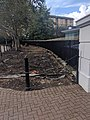Railings To West Of Main Gate At West India Dock.jpg