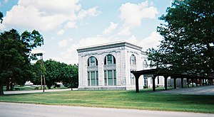 Ligonier, Pennsylvania - Image: Railroad station in ligonier pennsylvania