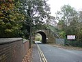 Railway Bridge, Skinner Lane, Pontefract - geograph.org.uk - 584050.jpg