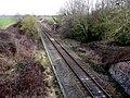 Railway at Hummer - geograph.org.uk - 1704567.jpg