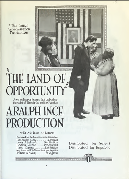 Land of Opportunity movie poster