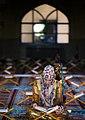 Ramadan 1439 AH, Qur'an reading at Jameh Mosque of Sanandaj - 17 May 2018 09.jpg