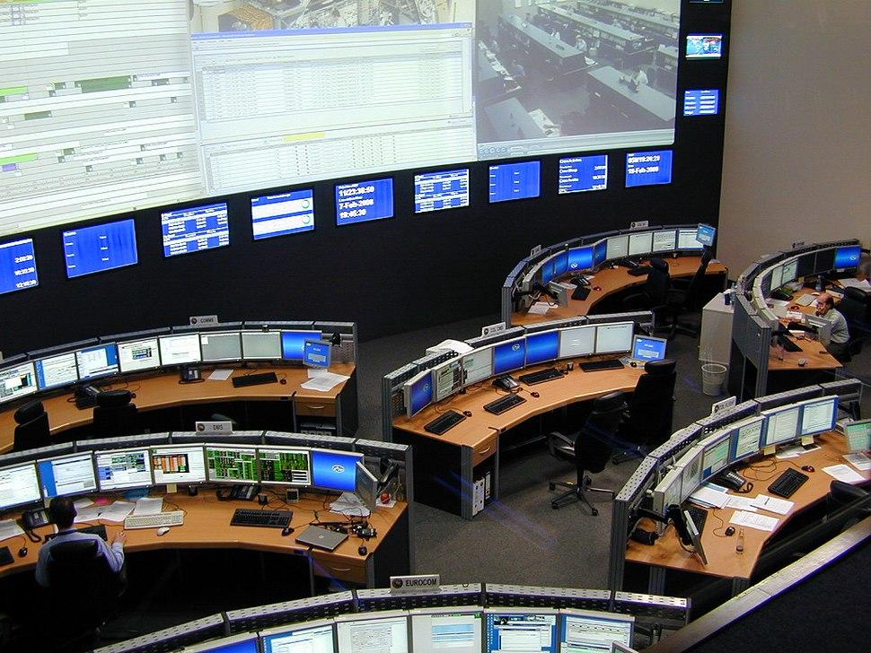 Raumfahrt-Kontrollzentrum 9900