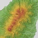 Rausu-Shiretoko Io Volcano Group Relief Map, SRTM-1.jpg