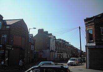 Cregagh - Ravenhill Avenue with the Woodstock Road to the right and the Cregagh Road to the left