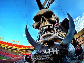 Raymond James Stadium - Image: Raymond James Stadium Pirate Ship