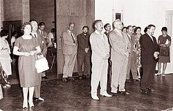 Razstava v Moderni galeriji ob dvajseti obletnici vstaje slovenskega naroda 1961.jpg