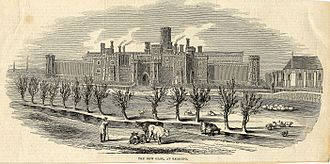 HM Prison Reading - Reading Gaol in 1844