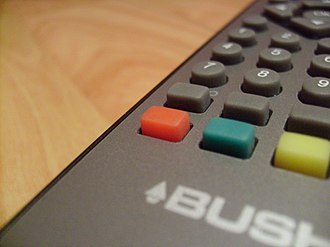 Red Button (digital television) - 'Red Button' on a digital TV remote control