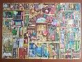 Regał z książkami na puzzlach 1000 elementów firmy Ravensburger - marzec 2021.jpg