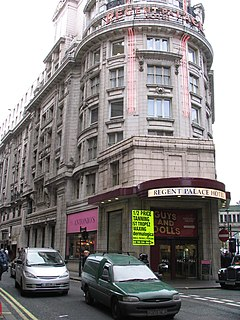 Regent Palace Hotel former hotel in London